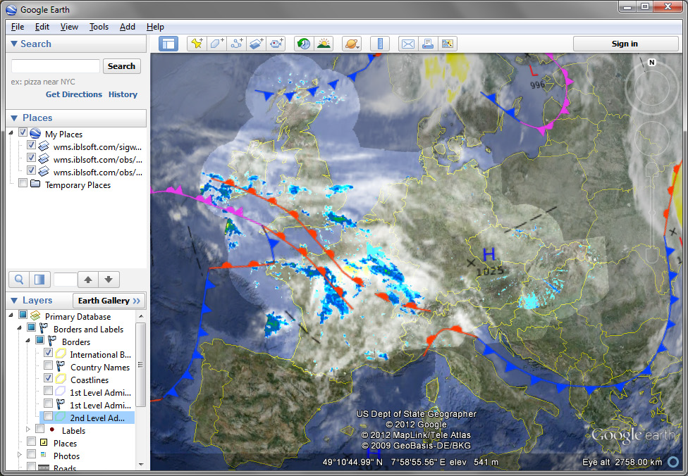 Online Weather – IBL Software Engineering
